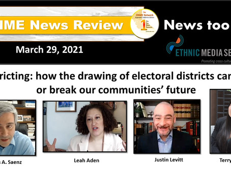 News Too Real 3-29-21: The redrawing of electoral districts can cost the future of Black communities