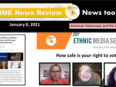 ONR 1-08-21:  American Democracy and the Vote Part 1 - How safe is your right to vote?