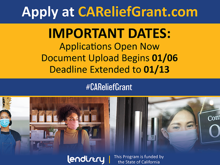ONR on CA Relief Grant:  Two credible experts say get those applications in ASAP, Black businesses