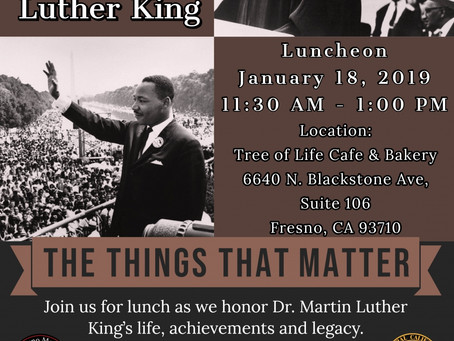 MLK Day events throughout Fresno, CA