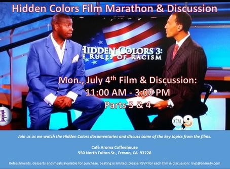 ONME's Valley Black Talk Radio host the Hidden Colors Marathon & Discussion