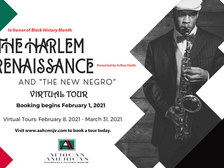 The AAHCMSJV reflects on over a century of black art and intellectualism rooted in Harlem this Feb.
