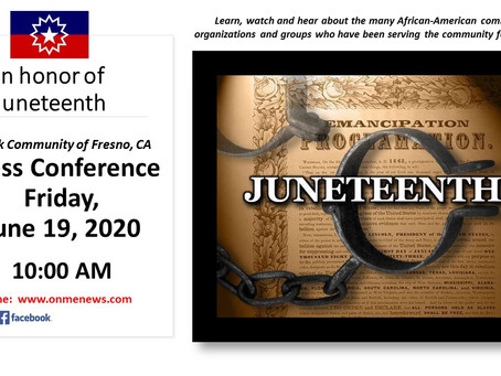 Fresno's African-American leadership affirms their commitment to liberty and justice for all