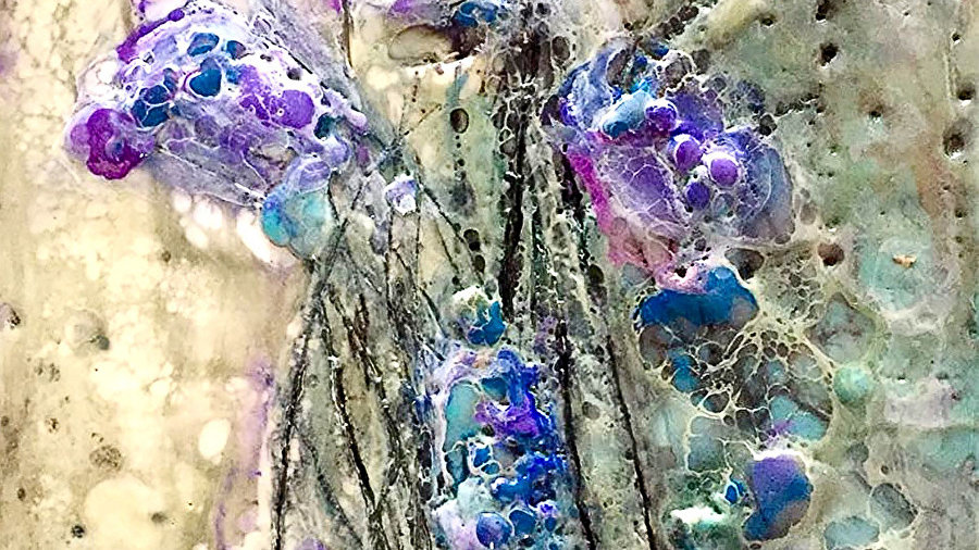 WABI-SABI Encaustic Play