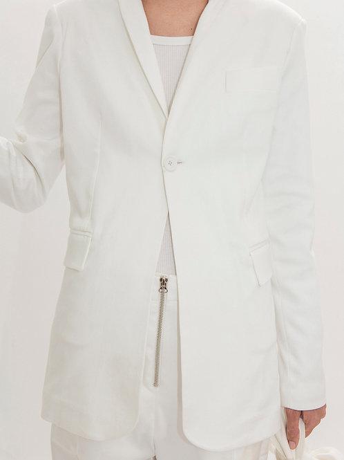 Blazer Fit Off White