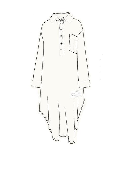 Nightshirt OFF WHITE c/ vivo off white