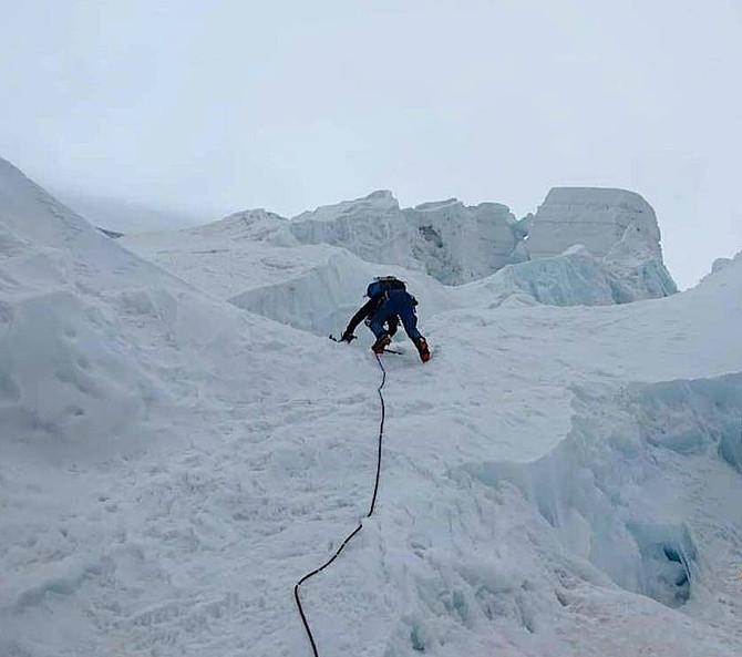 Concatenamento +6500 - Cumbre en el Huascarán Norte