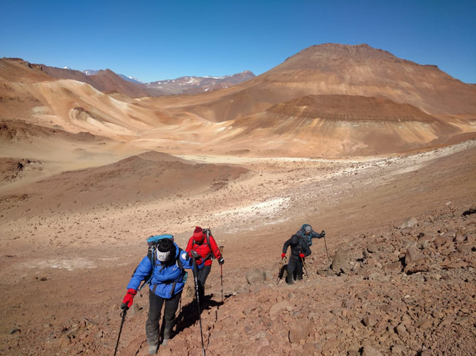 Primera al Pico Mistica (5235 m) en la Cordillera de San Buenaventura