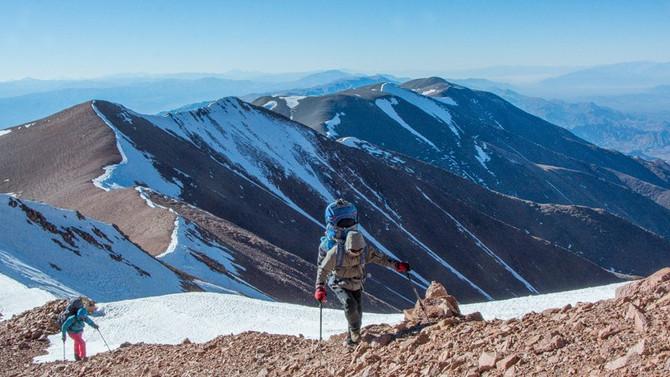 Se completa la Primera travesía integral de los Nevados del Famatina
