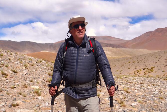 Primer ascenso del Bayo o Pillahua (4.274 m)
