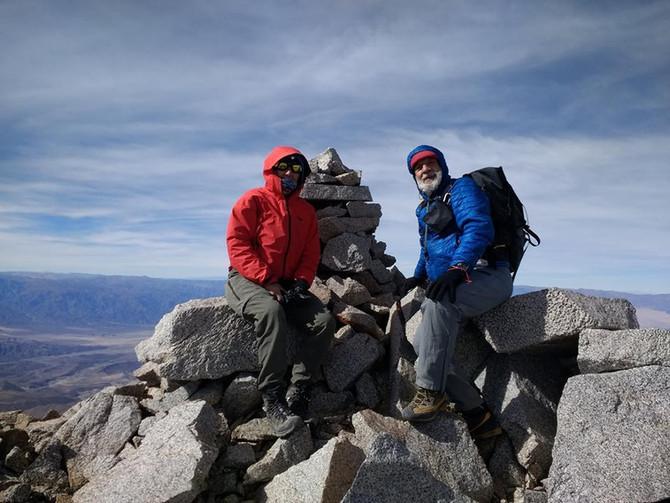 Ascenso al Cerro Alto Blanco (5404 m)