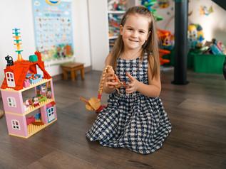 Лучшее место для детской фотосессии - у вас дома!