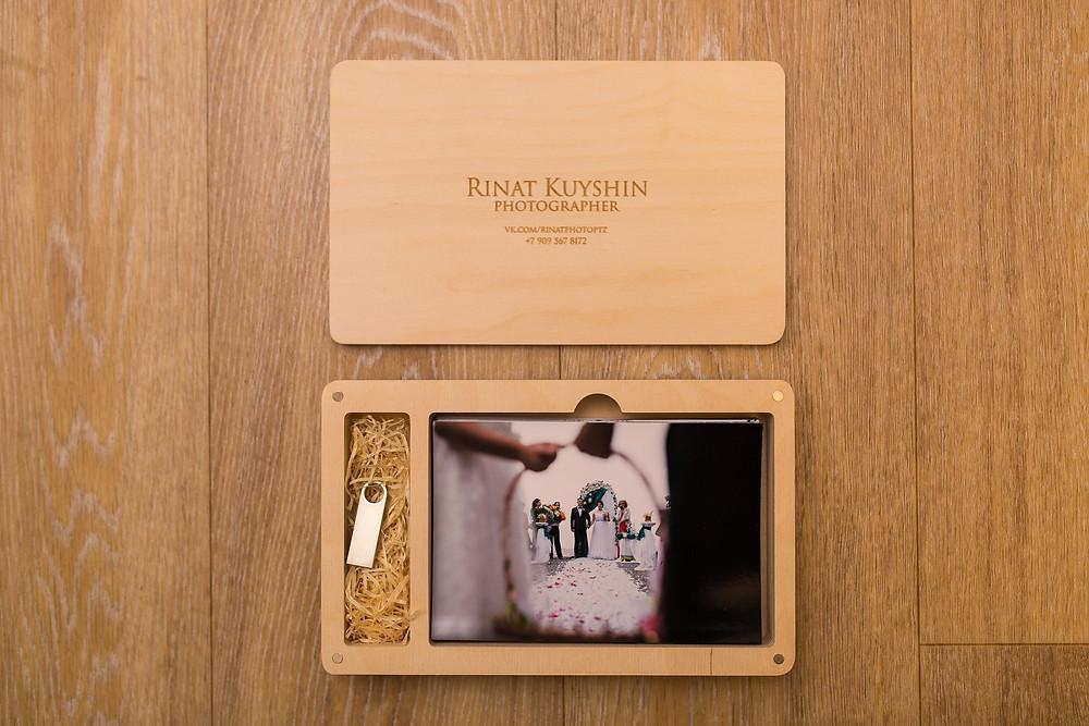 Свадебная упаковка. Фотограф Ринат Куйшин.