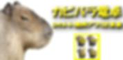 カピバラ電卓バナー画像