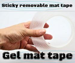 Sticky  removable mat tape