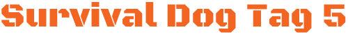 スティルホルツールズサバイバルドッグタグ5ロゴ画像