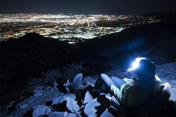 ONE80ライトで夜景を楽しむ