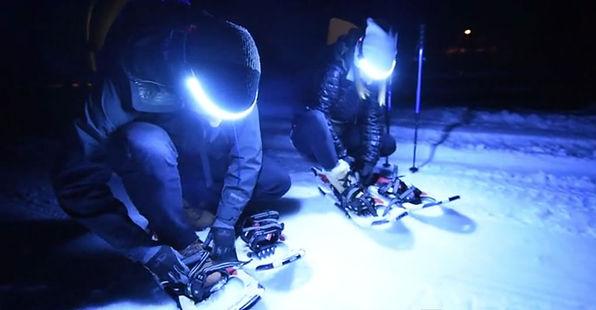 ONE80ライトでスノースポーツ