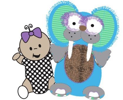 Meet Sofia & Gus the Toothy Tusked Rus