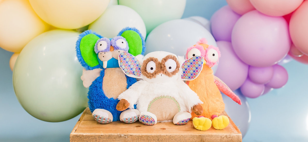 Gus Wobby & Ollie Soft Toy
