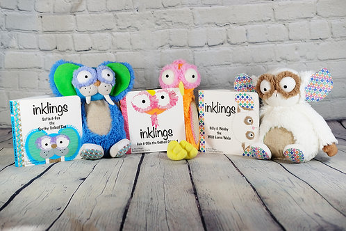 Inklings Soft Toys & Books Baby Bundle