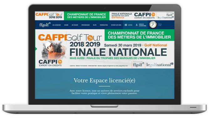LA FFG PARLE DE LA FINALE NATIONALE DU CAFPI GOLF TOUR 2018/2019 !