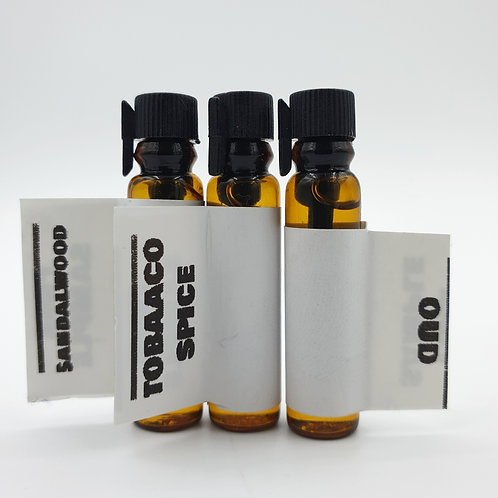 The Authentic Beardman's Beard Oil - Triple Blend (1ml x 3)