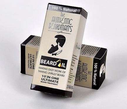 The Authentic Beardman's Beard Oil - Sandalwood Blend (30ml)