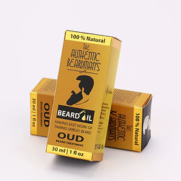 The Authentic Beardman's Beard Oil - Oud Blend (30ml)