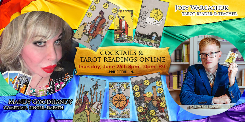 Pride Edition Cocktails & Tarot Readings Online