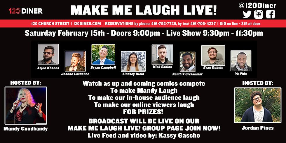 Make Me Laugh Live!