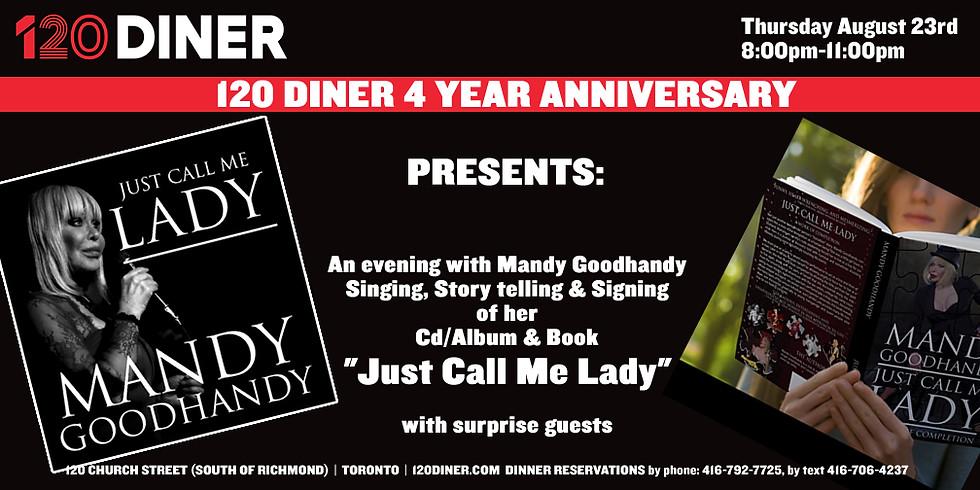 120 Diner 4 year Anniversary