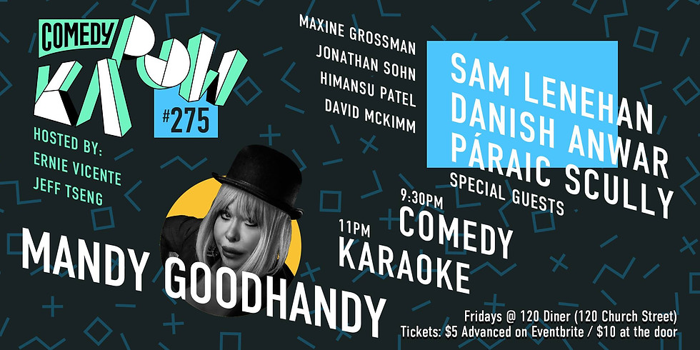 Comedy Kapow with Mandy Goodhandy