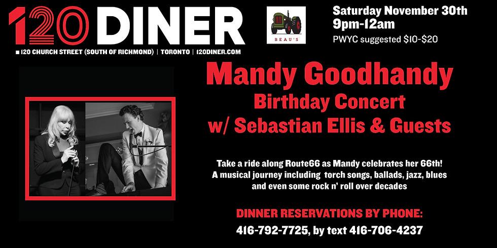 Mandy Goodhandy Birthday Concert