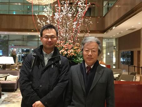 松本先生と在宅医療について語り合う