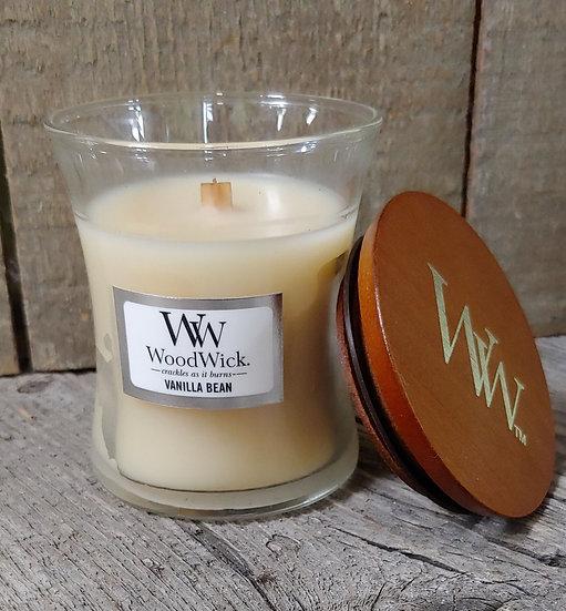 WoodWick Candle - 3 oz Vanilla Bean