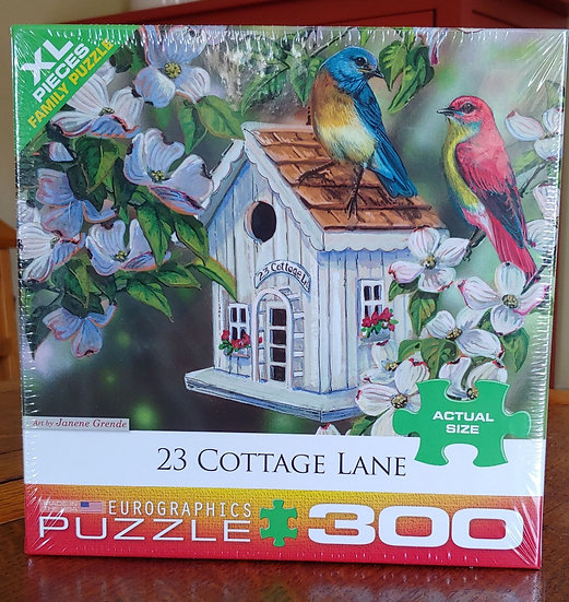 23 Cottage Lane Puzzle -300 pieces