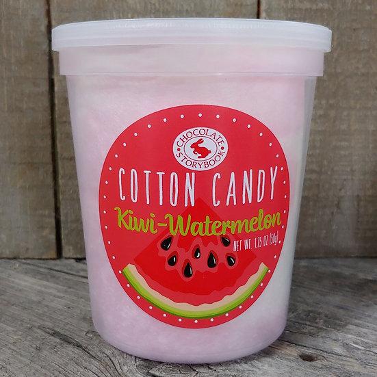 Kiwi-Watermelon Cotton Candy