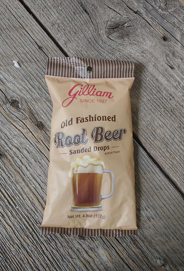 Gilliam Old Fashion Rootbeer Sanded Drops