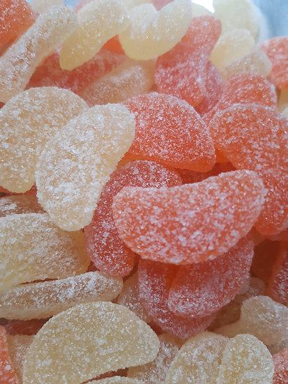 Sour Grapefruit Slices - 100 gr