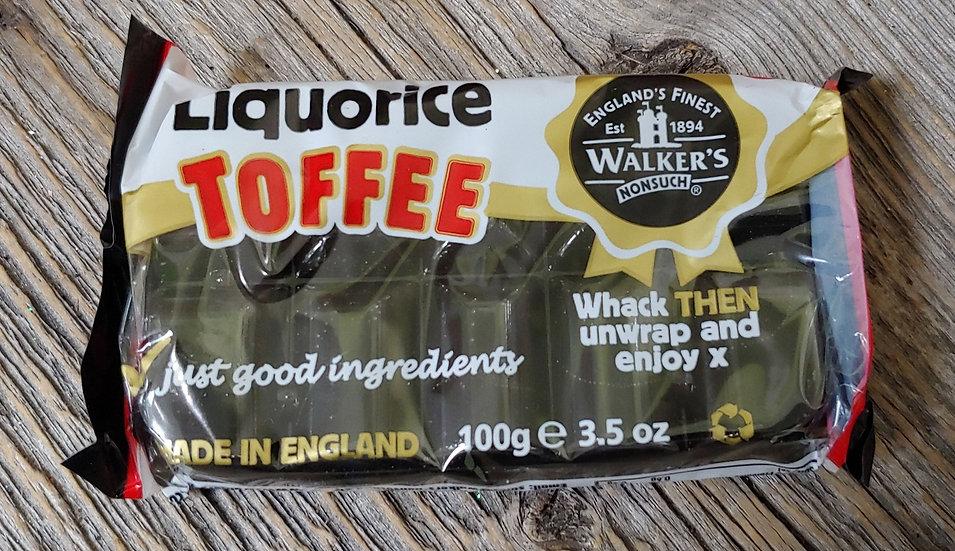 Walker's Liquorice Toffee
