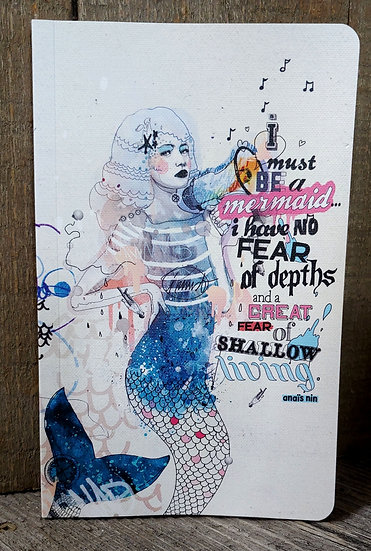 I must be a mermaid-Journal