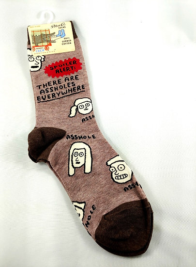 There are A**h**** Everywhere Socks