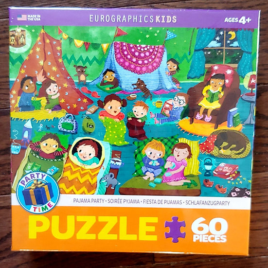 Kids- Pyjama Party Puzzle -60 pc
