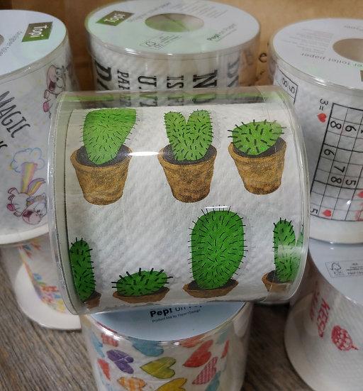 Cactus - Designer  Toilet Paper