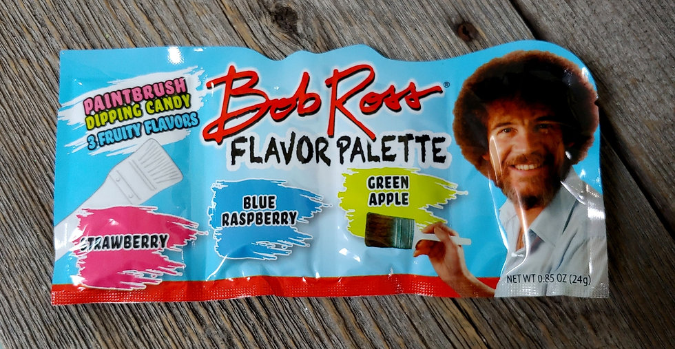 Bob Ross Paint Brush w/ dipping candy