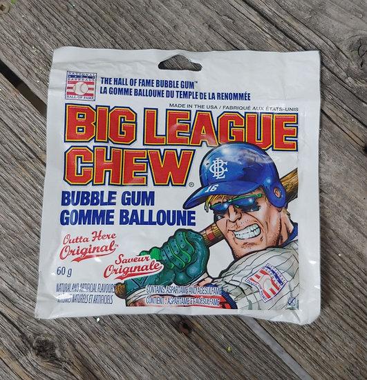 Big League Chew Bubble Gum- Original