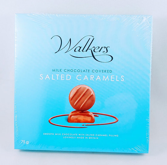 Milk Chocolate Covered Salted Caramels