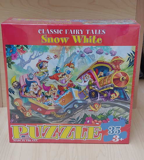 Snow White-collar 35 PC puzzle