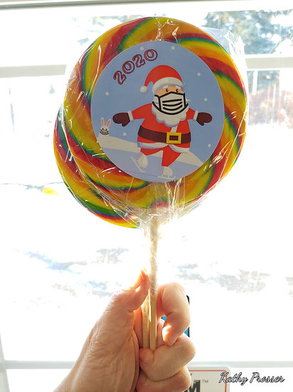 Santa 2020 Lollipops
